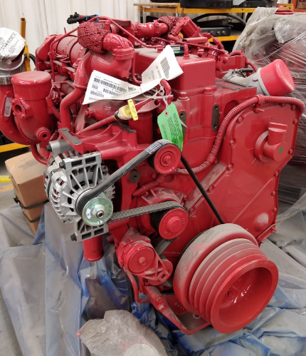 MOTOR CUMMINS ISLG 250 HP