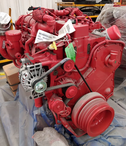 MOTOR CUMMINS ISLG 250HP E6